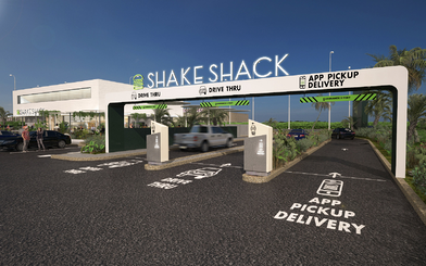 Shake Shack Drive Thru
