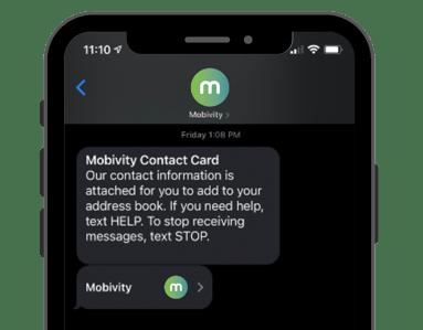 SmartContact Example 1 - Mobivity-1